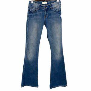BKE Culture Stretch Light Distressed Bootcut Jeans